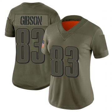 Women's Shelton Gibson Philadelphia Eagles Limited Camo 2019 Salute to Service Jersey