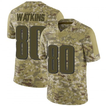 Youth Quez Watkins Philadelphia Eagles Limited Camo 2018 Salute to Service Jersey