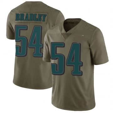 Youth Shaun Bradley Philadelphia Eagles Limited Green 2017 Salute to Service Jersey